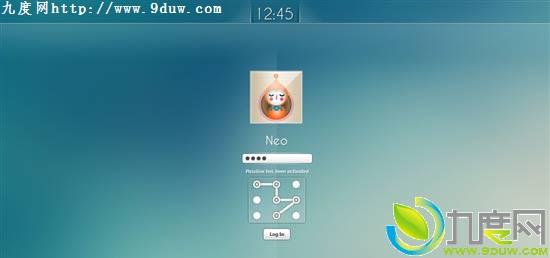 windows8安装和登陆界面图片