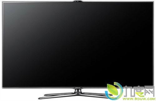 三星展示75寸超窄边框智能电视机es8000