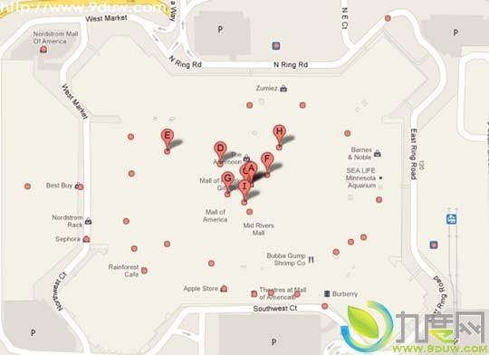 微软更新bing maps 新增大量室内地图