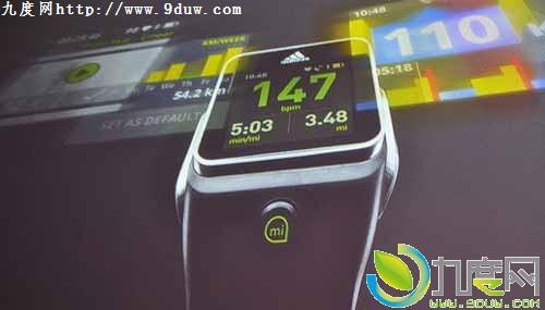 阿迪达斯也推智能手表 售399美元 高清图片