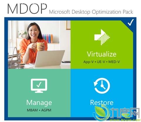 官方下载:微软Microsoft Desktop Optimization Pack 2013(桌面优化工具包,简称MDOP)正式版