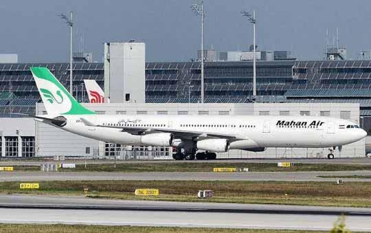 伊朗一架波音747型客机起飞2分钟!发动机掉落