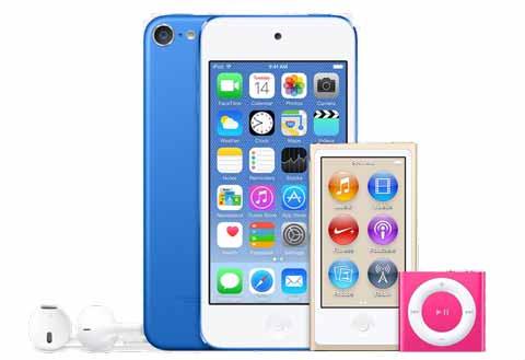 苹果今晚更新全新iPod产品:iPod Touch变化最大