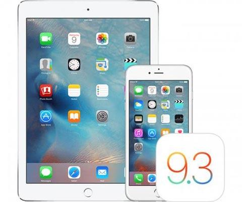 苹果iOS 9.3.3正式发布 附下载地址