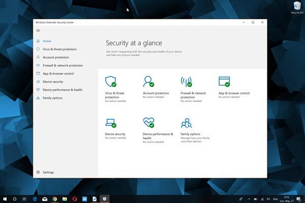 第三方杀毒软件已无用!微软Windows Defender杀软优秀