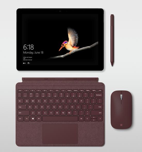 399美元起!微软Surface Go正式发布:10寸触摸屏+14nm奔腾CPU