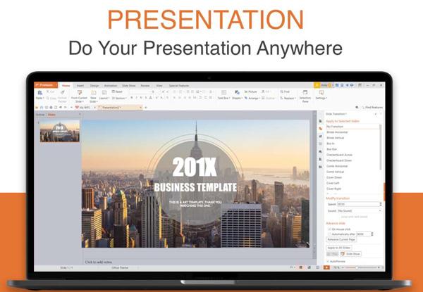 WPS Office套件免费登陆Win10应用商店!包括文档处理Writer、PPT制作Presentation、表格制作Spreadsheets以及PDF查看器