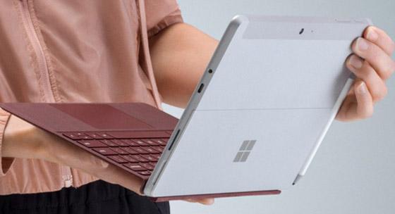 2988元起!微软Surface Go国行开卖:10点触屏+奔腾4415Y