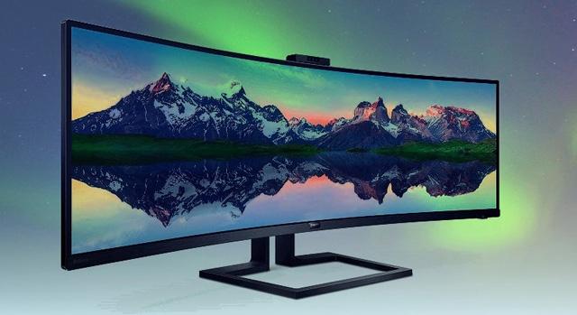 飞利浦发布全新49英寸带鱼屏曲面显示器:支持HDR显示
