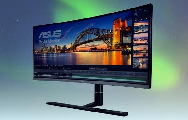 华硕推出全新专业级34英寸带鱼屏曲面显示器ProArt PA34VC:0.1毫秒响应+100% sRGB色域