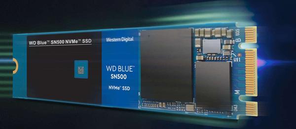"""西数发布首款NVMe蓝盘固态盘""""SN500"""":读取1700MB/s"""