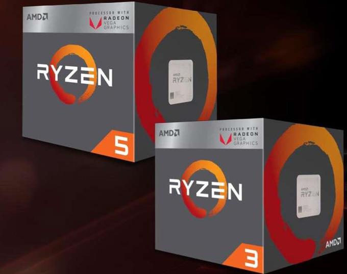 性能超酷睿i3/i5!AMD发布第二代锐龙APU处理器锐龙5 3400G/锐龙3 3200G:提频降价